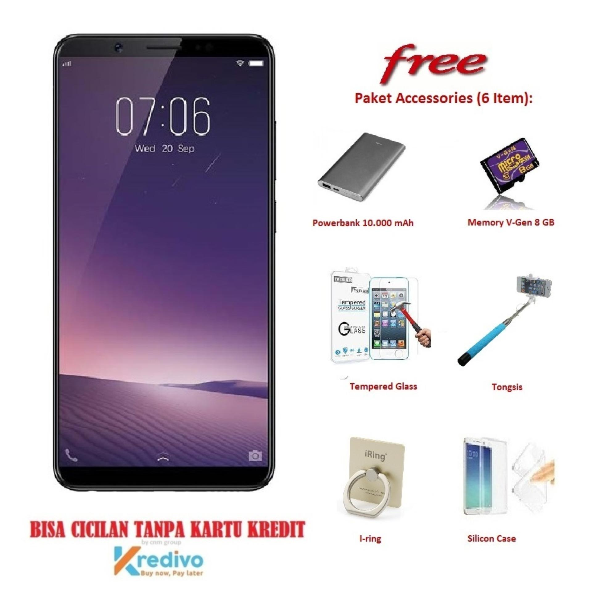 VIVO V7 [4/32GB] + Free 6 Item Accessories